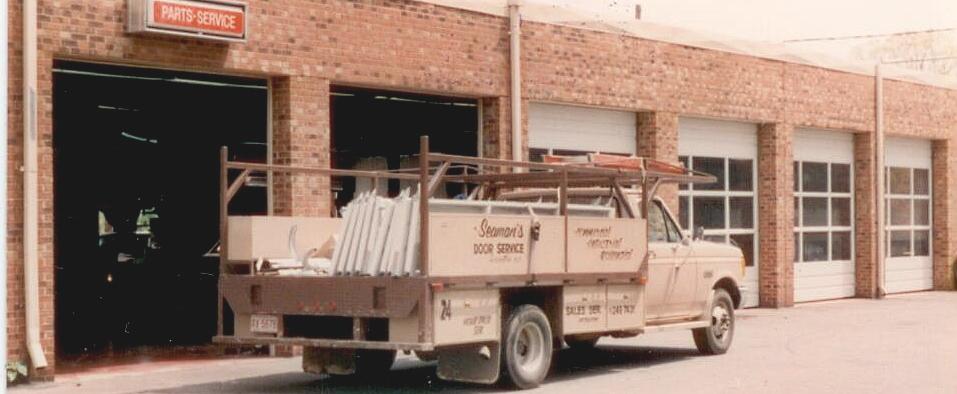 Seaman's Door Service Truck in the 1980's